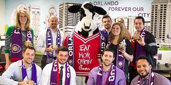 Orlando City FC Chick fil A
