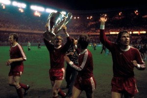 Bayern Munich after winning their second consecutive European Cup title in 1976. Courtesy of http://bundesligafanatic.com/a-history-of-bayern-munchen-in-the-european-cup-final/