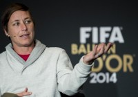 U.S. forward Abby Wambach  http://www.nydailynews.com/sports/soccer/soccer-players-legal-action-women-world-cup-turf-article-1.2086795