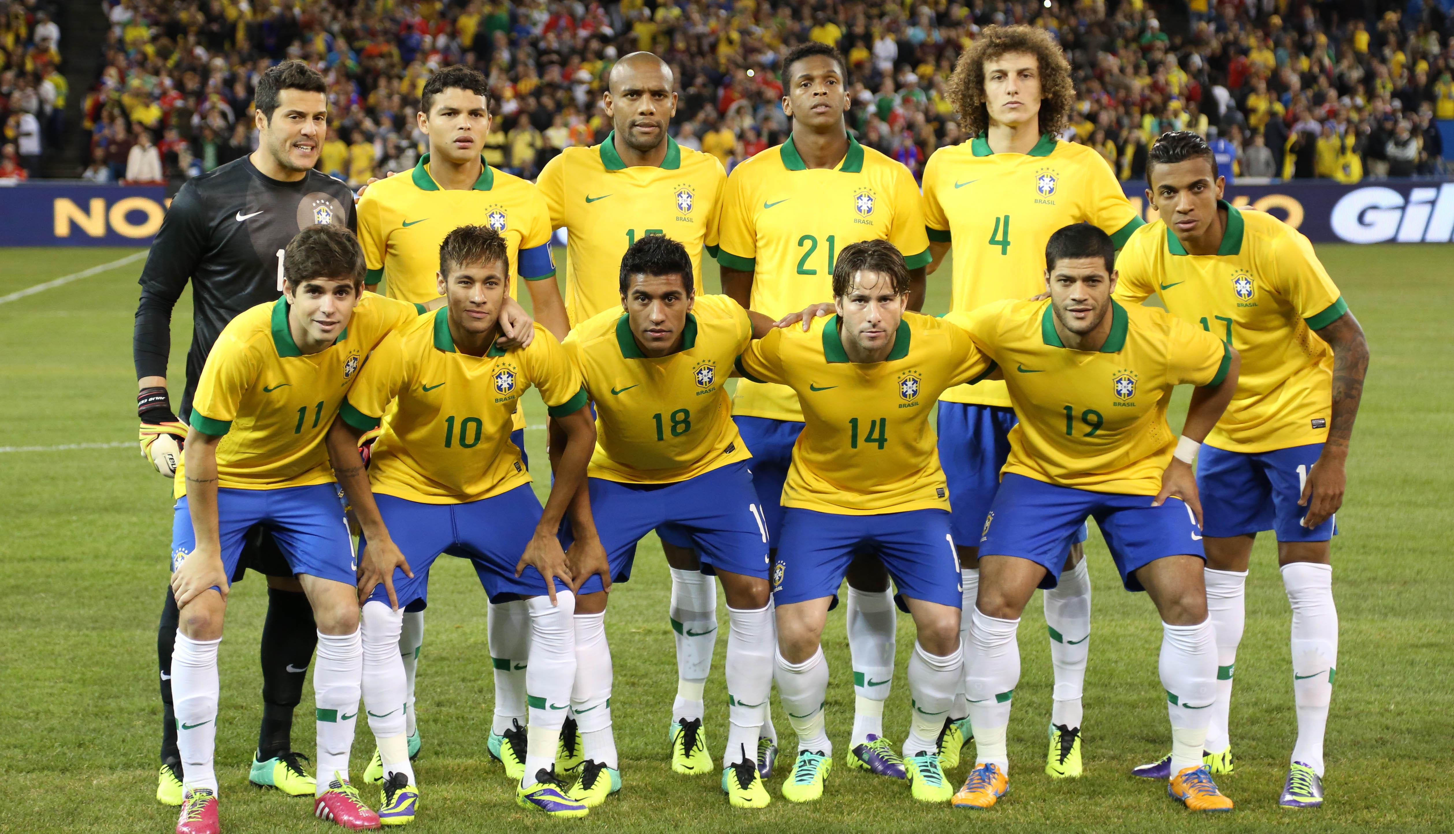 63629ed9a L équipe du Brésil  Coupe du Monde 2014