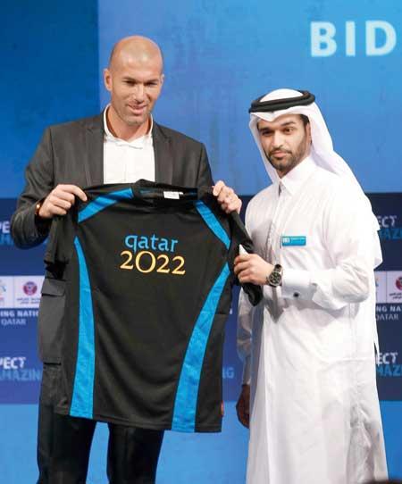 Zinedine zidane la race dans le foot soccer politics - Qatar football coupe du monde ...
