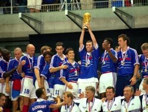 Retro France 1998 - Mondial -Coupe du Monde