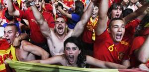 Soccer Euro 2012 Fans