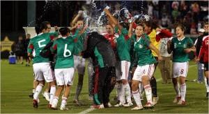 El Tri derrotó a la selección femenina de los EE.UU. en las eliminatorias de la Copa Mundial del 2011.