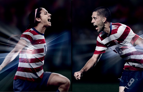 Clint Dempsey Mother United States: Women v...