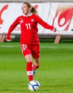Sverige - Schweiz 3-0, Träningslandskamp Fotboll Dam