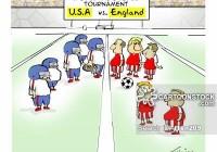Soccer vs Football (Fußball gegen amerikanischen Fußball)