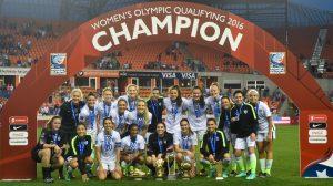 USWNT 2016 Women's Olympic Qualifying Championship