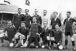 The infamous 1920 Belgian Olympics team.