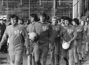 Die ostdeutsche Fußballmannschaft, 1974