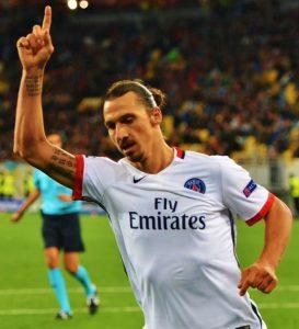 Ibrahimovic for Paris Saint-Germain Source: Football.ua
