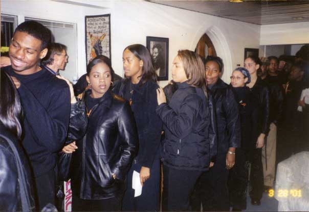 Duke Student Movement Protest, March 28, 2001