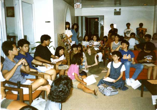 First General Meeting, Asian Students Association, September 1988
